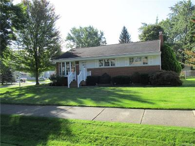 Waterford Twp Single Family Home For Sale: 4047 Silver Birch Drive