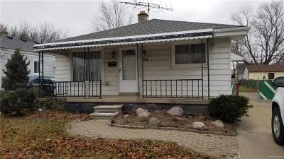 Eastpointe Single Family Home For Sale: 24828 Hayes Avenue