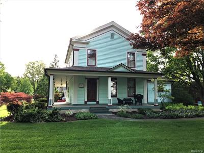 Single Family Home For Sale: 112 S East Street