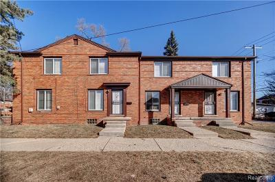 Detroit Multi Family Home For Sale: 8200 Schaefer Highway