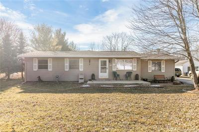 Van Buren, Van Buren Twp Single Family Home For Sale: 7210 Sheldon Road