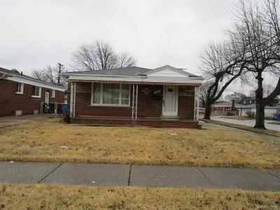 Dearborn Single Family Home For Sale: 4205 Dudley Street