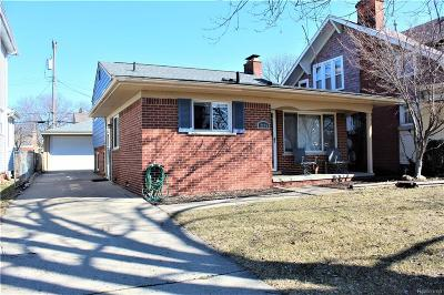 Dearborn Single Family Home For Sale: 2975 Grindley Park Street