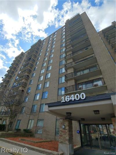 Southfield Condo/Townhouse For Sale: 16400 N Park Drive #308