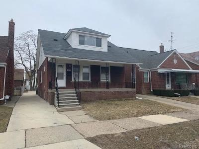 Dearborn Single Family Home For Sale: 6433 Coleman Street