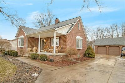 NORTHVILLE Single Family Home For Sale: 15814 Fry Street