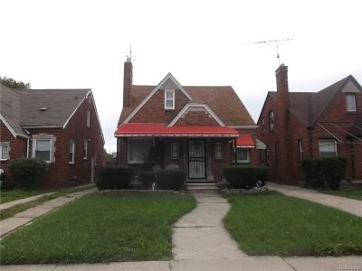 Detroit Single Family Home For Sale: 10910 Roxbury Street