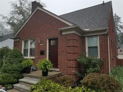 Huntington Woods Rental For Rent: 10014 Borgman Avenue