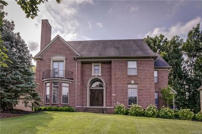 West Bloomfield Twp Single Family Home For Sale: 7551 Pinewood Trail