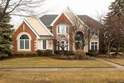 Sterling Heights Single Family Home For Sale: 43484 Chardonnay Drive