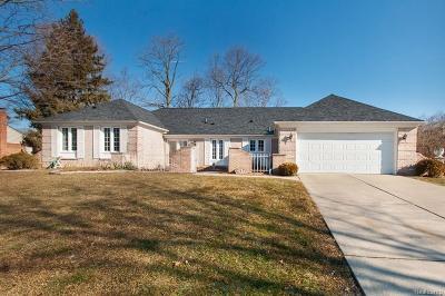 Farmington Hills Single Family Home For Sale: 25853 Livingston Circle