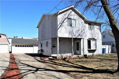 Dearborn Single Family Home For Sale: 24228 Fordson Highway