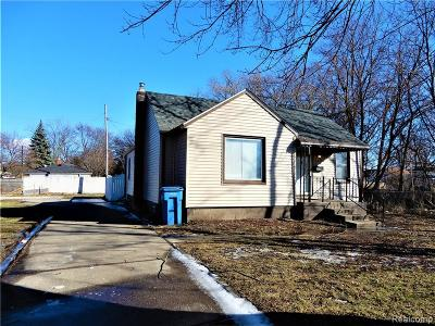 Dearborn Heights Single Family Home For Sale: 5315 Edgewood Street
