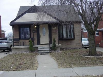 Lincoln Park Single Family Home For Sale: 3021 Lafayette Boulevard