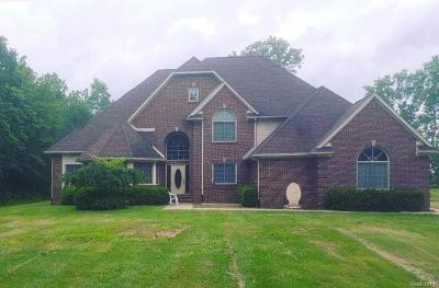 Huron Twp Single Family Home For Sale: 23720 Otter Road