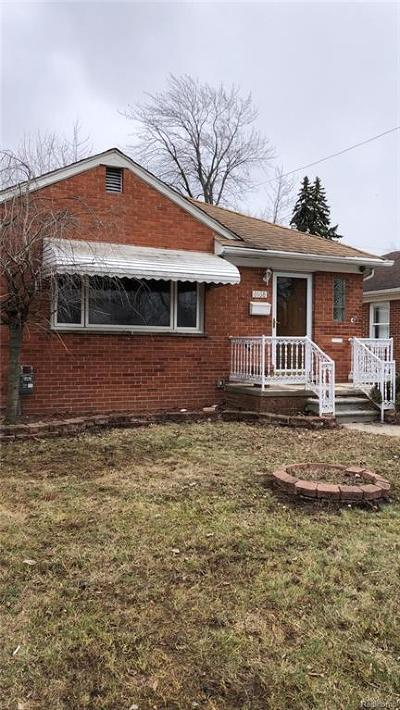 Dearborn Single Family Home For Sale: 8468 Dale Street