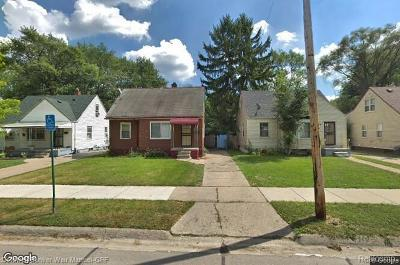 Detroit Single Family Home For Sale: 12476 Whitehill Street
