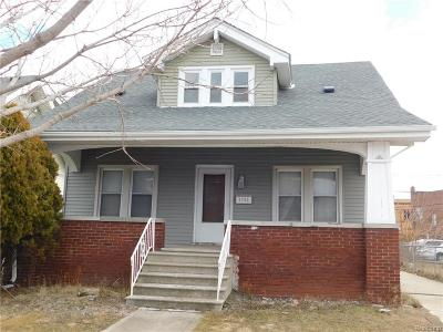 Dearborn MI Single Family Home For Sale: $129,900