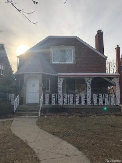Dearborn MI Single Family Home For Sale: $189,900