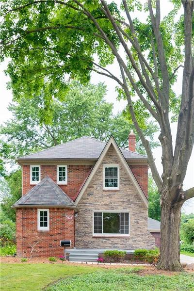 Royal Oak Single Family Home For Sale: 1835 McDonald Avenue