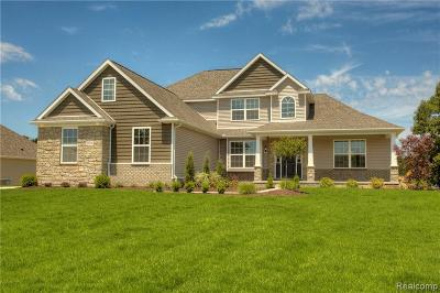 Hartland Twp Single Family Home For Sale: Tbd Walnut View Drive (Homesite 62)