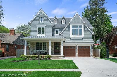 Birmingham MI Single Family Home For Sale: $2,275,000