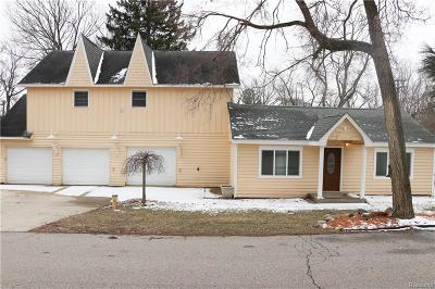West Bloomfield Single Family Home For Sale: 6797 Grassland Avenue