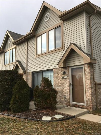 Chesterfield Twp Condo/Townhouse For Sale: 50440 Bay Run S
