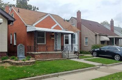 Lincoln Park Single Family Home For Sale: 1488 Cleveland Avenue