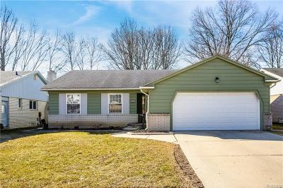 Livonia Single Family Home For Sale: 36113 Lyndon St