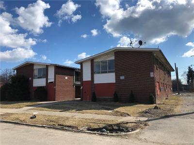 Detroit Multi Family Home For Sale: 10400 Beaconsfield Street