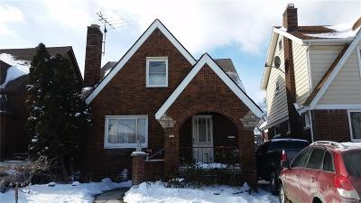 Dearborn Single Family Home For Sale: 6817 Hartwell Street