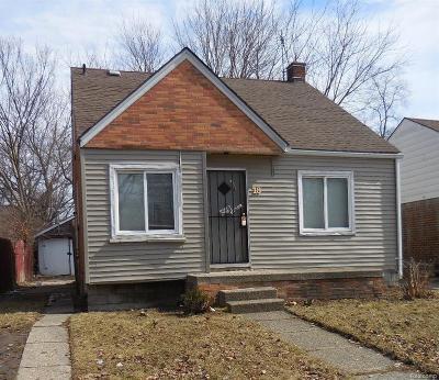 Detroit Single Family Home For Sale: 18686 Teppert Street