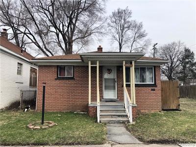 Hamtramck Single Family Home For Sale: 5085 Yemans Street