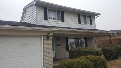 STERLING HEIGHTS Single Family Home For Sale: 34859 Carbon Drive