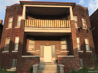 Detroit Multi Family Home For Sale: 6326 Vinewood Street