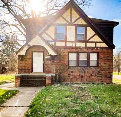 Detroit Single Family Home For Sale: 15881 Virgil Street