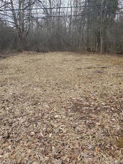 West Bloomfield Twp Residential Lots & Land For Sale: 4705 Halsted