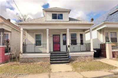 Detroit Single Family Home For Sale: 13201 Gallagher Street