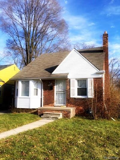 Detroit Single Family Home For Sale: 19150 Stahelin Ave