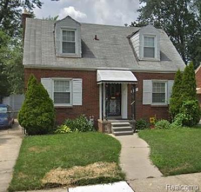 Detroit Single Family Home For Sale: 15837 Biltmore St
