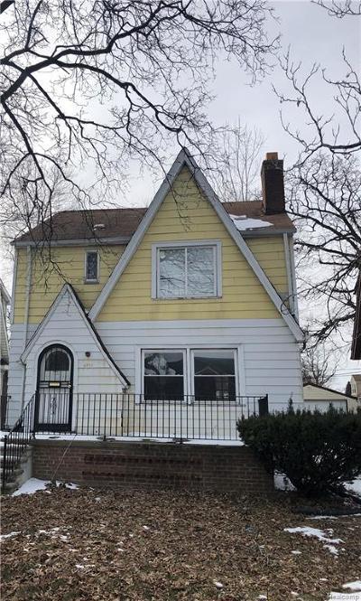 Detroit Single Family Home For Sale: 14955 Prevost Street
