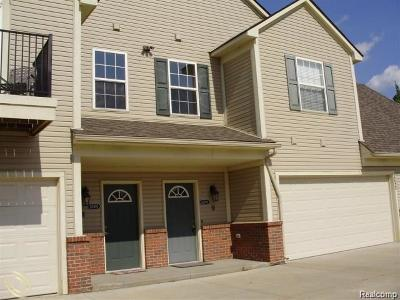 Shelby Twp Condo/Townhouse For Sale: 7821 Ambassador Drive