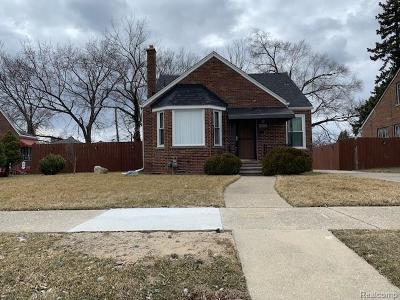 Detroit Single Family Home For Sale: 9401 Stahelin Avenue