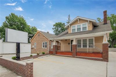 Royal Oak Commercial For Sale: 928 E 11 Mile Road