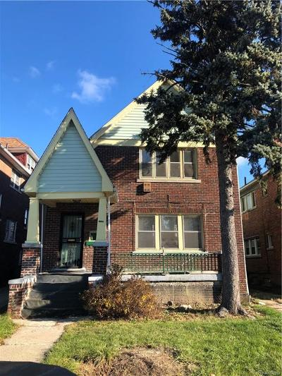 Detroit Single Family Home For Sale: 13530 Santa Rosa Drive