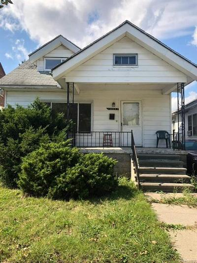 Detroit Single Family Home For Sale: 14887 Wildemere Street