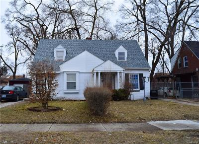 Detroit Single Family Home For Sale: 19945 Meyers Road