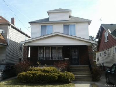 Detroit Single Family Home For Sale: 2980 Dickerson Street