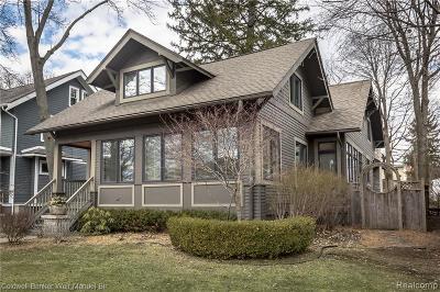 Birmingham MI Single Family Home For Sale: $899,900